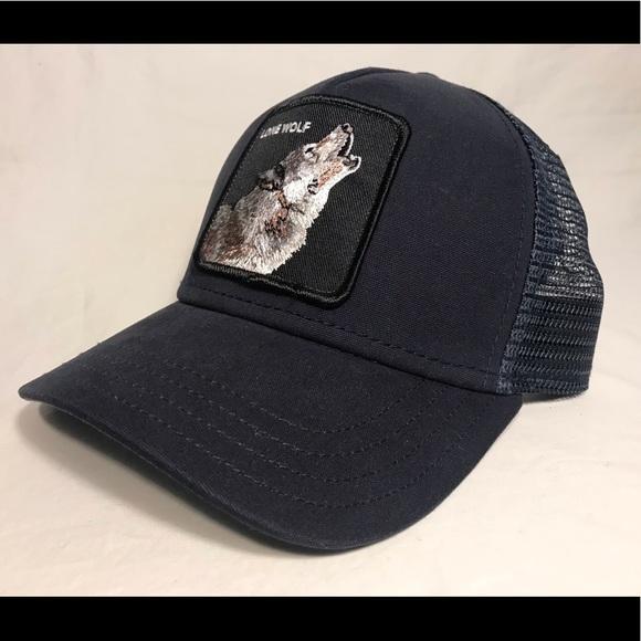 d64e2d0b Goorin Brothers Accessories | Lone Wolf Trucker Mens Hat Nwot | Poshmark